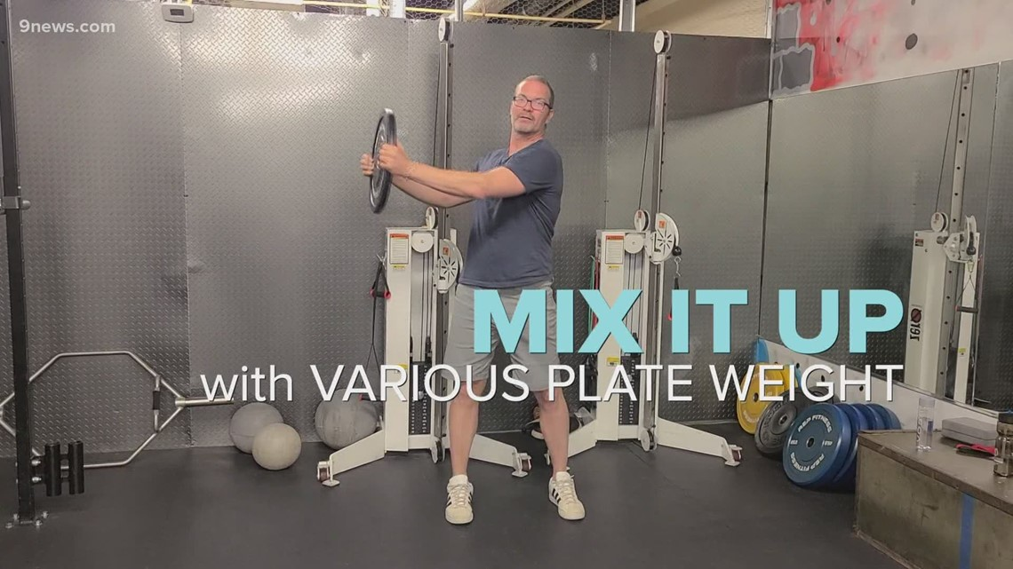 Exercises you can do with weight plates