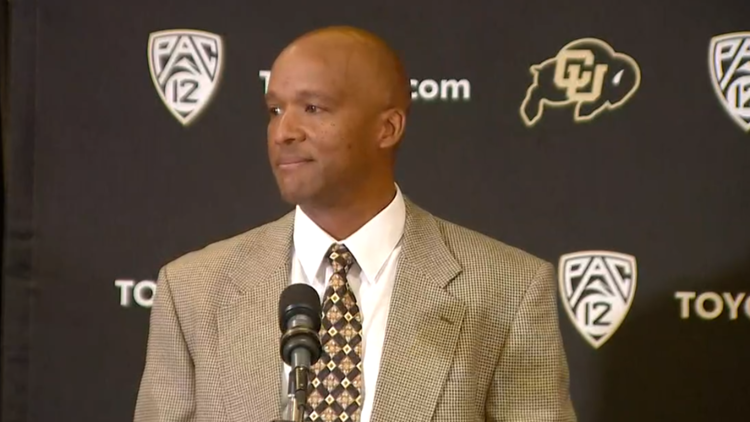 Karl Dorrell introduced as CU's next head football coach
