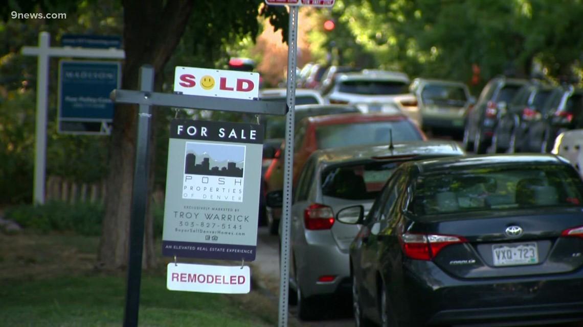 Denver's real estate market slightly settling down