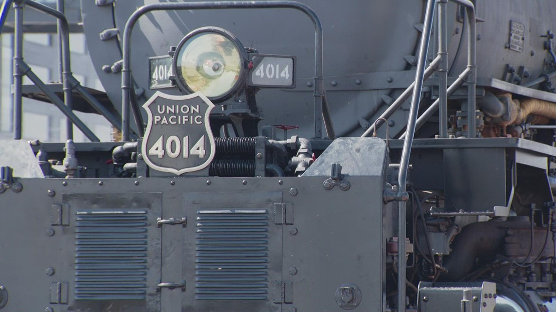 Union Pacific's Big Boy visits Colorado on US tour