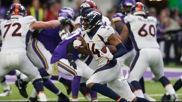 Scangarello outcoaching Kubiak as Broncos lead Vikings, 20-0 at halftime