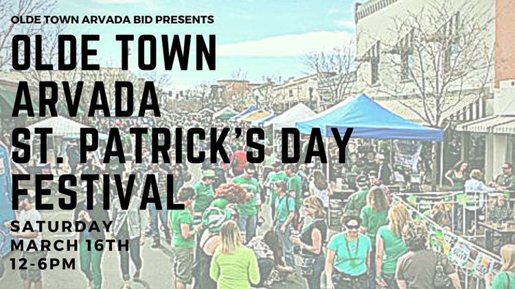 Olde Town Arvada St. Patrick's Day Festival