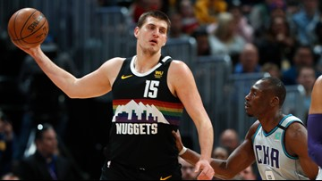 Nuggets cruise past Hornets at Pepsi Center