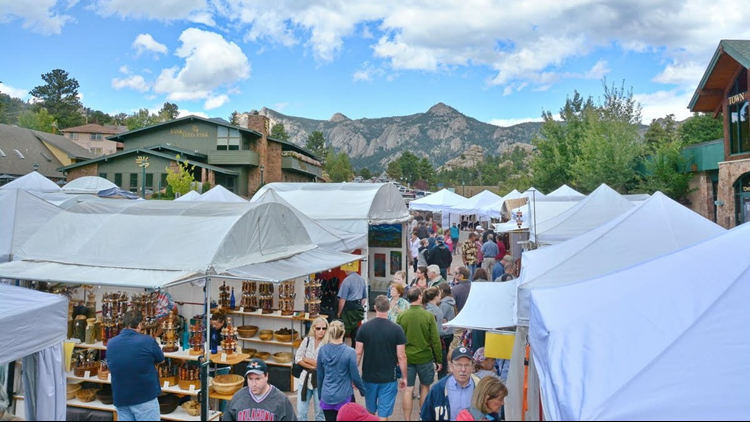 Visit Estes Park Estes Park Memorial Day Weekend Art Market