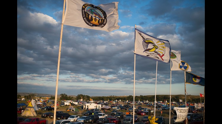 Why people are checking into Standing Rock on Facebook