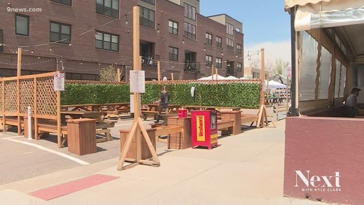 What will happen to streets closed for expanded patios after the pandemic?