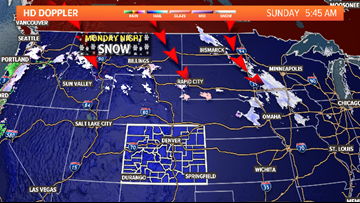 Winter storm expected to bring snow to much of Colorado early this week