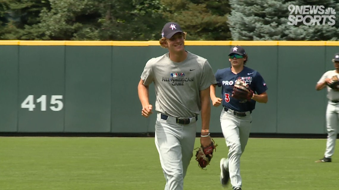Local high school baseball players showcase talent at All-American Game