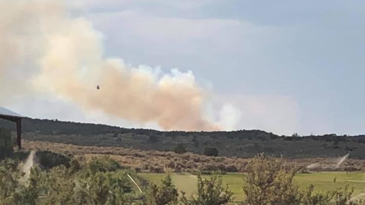 Lightning sparks 18 fires on Southern Ute Indian Reservation