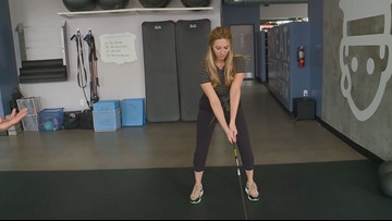 Workout Wednesday: Keeping your golf swing strong with a gym workouts