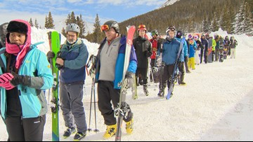 Skiers and snowboarders consider fresh snow worth the wait on I-70 Saturday