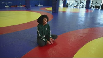 Maya Nelson was a wrestler at East High who beat the boys – she hasn't stopped winning