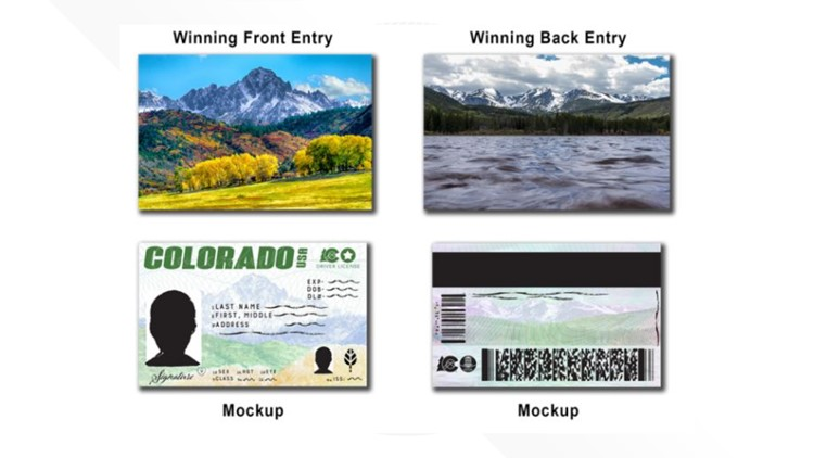 Colorado's beauty showcased on new driver's license design