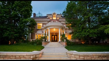 Get an exclusive look inside this historic Cheesman Park mansion just listed for $4.5M