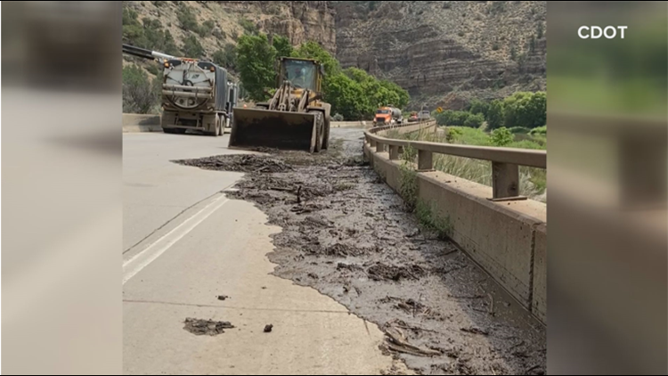 Plan to clear debris in Colorado River at Glenwood Canyon continue