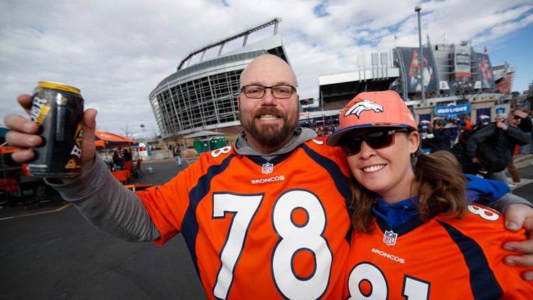 Denver Broncos fans AP