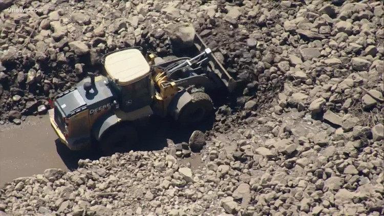 Westbound I-70 reopens at Empire Junction following closure due to rocks, mudslide