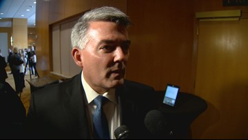 Sen. Gardner won't say if it's appropriate to ask foreign governments to investigate a rival