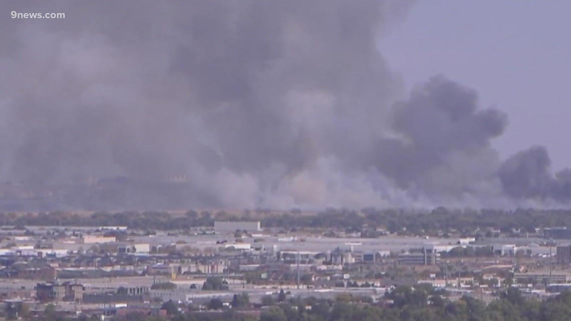 Don't worry, that big plume of smoke over northeast Denver is from a prescribed burn