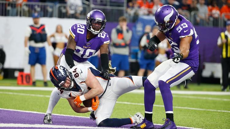 Broncos Vikings Football Troy Fumagalli