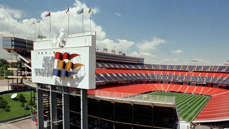 Mile High Stadium 1999 Denver