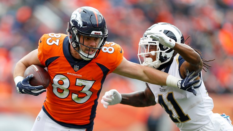 detailed pictures f5fdc 585ac Broncos notes: Tight end Matt LaCosse to become unrestricted ...