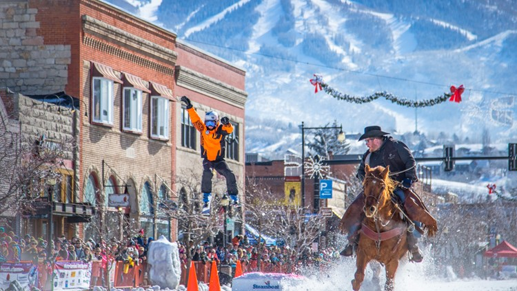 Steamboat Springs Winter Carnival Steamboat Springs' annual Winter Carnival includes five days of ski competitions, alpine exhibitions, street events