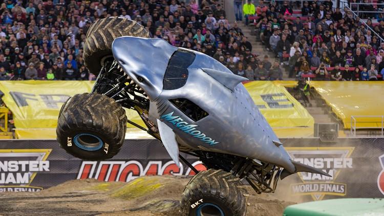 Megalodon monster jam monster truck