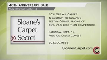 Sloane's Carpet Secret - September 13, 2019