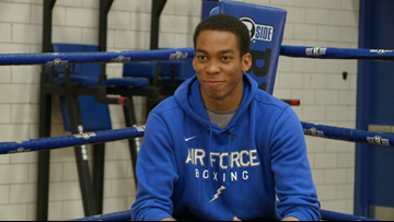 Air Force boxer Levi Knox hoping to repeat as national champion
