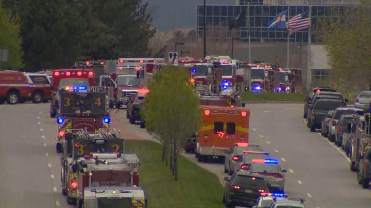 First responders at STEM School