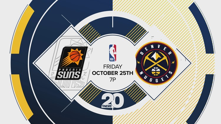 KTVD Channel 20 Denver Nuggets vs Suns