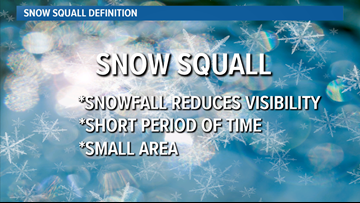 Saturday's heavy snow considered 'snow squall,' and Colorado may have a warning for it starting next season