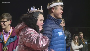 Arapahoe High students with Down syndrome crowned homecoming queen and king