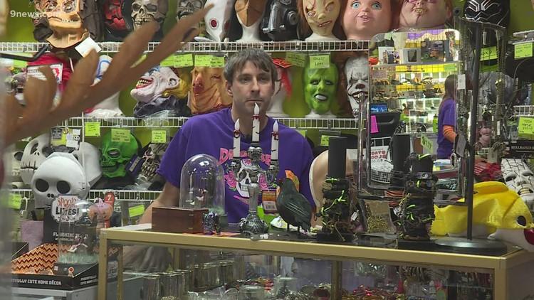 Costume shop owner hopes for bounce back Halloween season