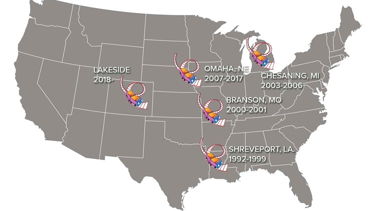 The 'Zykon's' stops across America