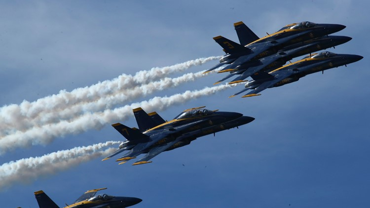 Great Colorado Air Show: Blue Angels, schedule, map
