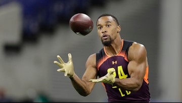 Broncos' rookie Justin Hollins: Fast, tall, and potentially a late bloomer
