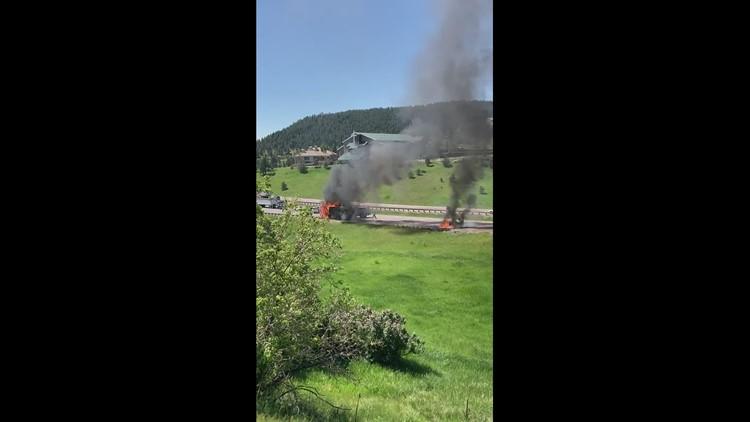 I70 RV fire