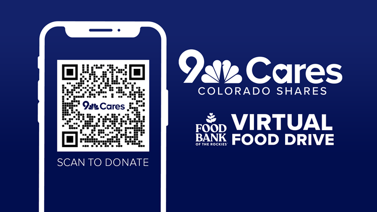 Donate to the 9Cares Colorado Shares virtual food drive through May 30