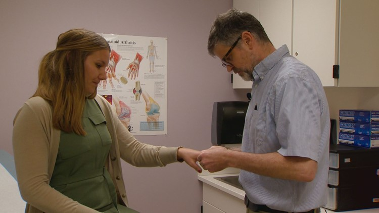 Dr. Kevin Deanesays his patients, patients with Rheumatoid Arthritis, are only rarely diagnosed with the disease.