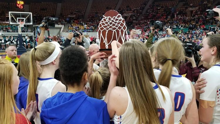Cherry Creek 5A girls basketball state championship 2019