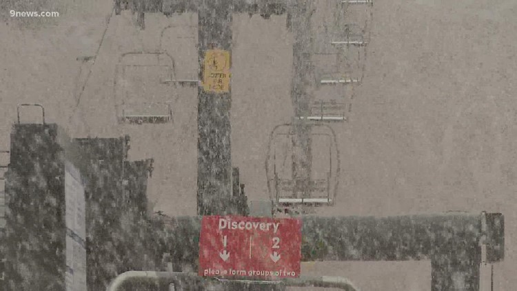 Wild weather starts to hit the slopes in Colorado
