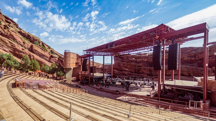 Red Rocks Amphitheatre's 2021 concert schedule continues to grow