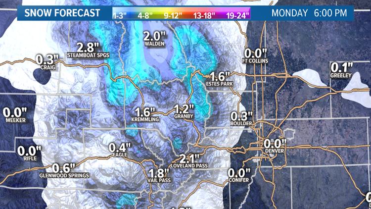 Euro Snow Forecast