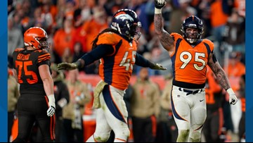 Derek Wolfe optimistic of recovery after tests confirmed season-ending elbow injury