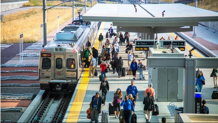 Bus shuttle service will be provided. RTD is asking travelers to allow an extra hour of travel time between Union Station and the DIA station.