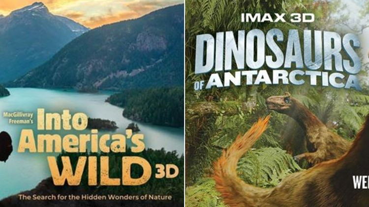 IMAX Into America's Wild Dinosaurs of Antarctica Denver Museum of Nature & Science