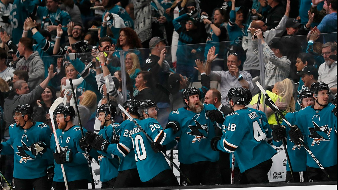 Pavelski leads Sharks past Avalanche 3-2 in Game 7