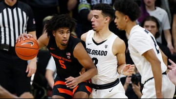 Oregon State turns up pressure, rallies past Colorado 76-68